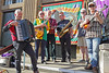 The Red Flags in front of Norwich & District TUC banner at the Scrap The Public Sector pay cap rally (Roger Blackwell) Tags: music musicians folkmusic tradeunion tradeunionists tradeunions rally march protestmarch marchagainstpublicsectorpaycap norwich norwichmusic norwichdistricttradesunioncouncil banners workers solidarity