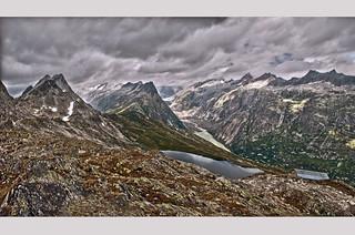 Grimsel Panorama no. 2. Canton of Bern. Switzerland.Izakigur no. 59+ no. 62. 27.08.09,13:19:40 , 13:20:02 .