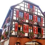 une Boulangerie bien fleurie en Alsace-du-Nord ! thumbnail