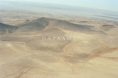 Rujm Qirana (DAS231) (Rujm Hala al-Qaraneh); Khatt Shebib; Darawish Enclosures 1 (APAAME) Tags: oblique scannedfromnegative aerialarchaeology aerialphotography middleeast airphoto archaeology ancienthistory tafilahgovernorate jordan