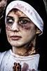 Zombie Nun (Andy J Newman) Tags: girl nikon bristol colorefex nun d500 colour zombie zombiewalk walk england unitedkingdom gb