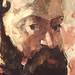 CEZANNE,1875 - Portrait de l'Artiste au Fond Rose (Orsay) - Detail 62