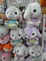 Baltimore Comic-Con, September 23, 2017 (kimsworldofart) Tags: baltimoreconventioncenter baltimorecomiccon baltimore maryland plush plushie stuffedanimal rabbit bunny bunnies