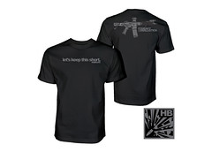 Short Barrel Rifle - Heavy Ballistics - Gun T-Shirts (heavyballistics) Tags: sbr short barrel rifle heavy ballistics gun tshirts