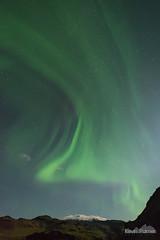 Eyjafjallajökull Aurora (kevin-palmer) Tags: europe iceland september fall autumn nikond750 night sky stars starry astronomy astrophotography auroraborealis aurora northernlights green color colorful samyang rokinon14mmf28 moonlight moonlit eyjafjallajökull