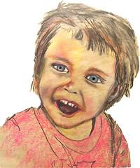 thomas3yrs-old (Robin Hutton) Tags: thomas drawing drawn chalk robinhuttonart
