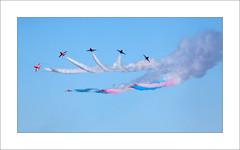 Red Arrows - iii (Steve-T201) Tags: redarrows falmouth cornwall display jet aeroplane