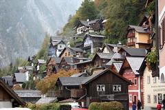Gestapelte Häuser in Hallstatt (Helgoland01) Tags: hallstatt unesco welterbe österreich austria oberösterreich