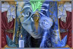 Blue Candles For Las Vegas
