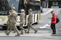 The ghost walk (Ian@NZFlickr) Tags: wwi ghost walk soldiers otago battalion dunedin nz memorial war deaths