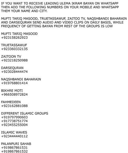 Whatsapp Telegram islamic group - a photo on Flickriver