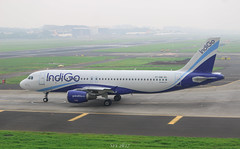 Indigo Airlines (vomm_aviationpictures) Tags: planespotting planes plane photo photography pilots spotting india indigo indigoairlines ifly 6e airplane aircraft aerodrome airport airlines airways airline aviation a320 airbus320 320 taxi takeoff taxiway green grass canon canon1200d 1200d 1855mm 2k17 2017 55250mm mumbai bom