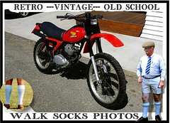 Retro Walk socks Vintage part 21 (The General Was Here !!!) Tags: bike motorbike motorcycle honda japan trailbike enduro xr 250 500 japanese 1980s 80s 1979 1980 vinatge old nz kiwi newzealand retro oldschool shorts socks long knee bermudasocks walkshorts walksocks mensshortshorts summer fashion overthecalfsocks wearingsocks auckland whangarei tauranga rotorua gisborne napier hastings newplymouth palmerston northwellingtonnelsonchristchurchdunedininvercargillsydneybrisbanemelbournemangentsgolfergolftweed captweedtieold man golfsocks outdoor poster canon christchurch dunedin invercargill tweedcap tweed manwearingtweedcap oldfashioned whattowearwith