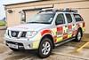 Manston Airport Fire & Rescue Nissan Navara SG07 KKF (policest1100) Tags: manston airport fire rescue nissan navara sg07 kkf