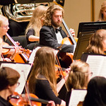 "<b>Homecoming Concert</b><br/> The 2017 Homecoming Concert, featuring performances from Concert Band, Nordic Choir, and Symphony Orchestra. Sunday, October 8, 2017. Photo by Nathan Riley.<a href=""http://farm5.static.flickr.com/4514/37497392580_c467e13953_o.jpg"" title=""High res"">∝</a>"