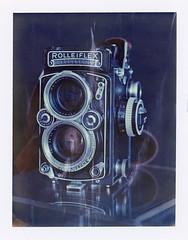 Rolleiflex Planar 2.8E (JJ_REY) Tags: rolleiflex planar28e polaroid iduv instantfilm peelapart pack100 expired toyofield 45a sironarn 150mm polaroidback405 epson v800 roidweekautumn2017 colmar alsace france