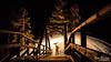 Steel wool (SPPhotography_Finland) Tags: steelwool steelwoolphotography landscape landscapephotography longexposure canon canonphotography canonllens canon7dmk2 kouvola taikinakoski bridge river wood burn fire 2017 finland