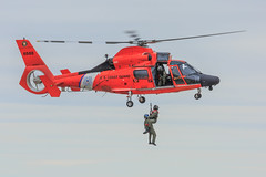 USCG HH-65 Dolphin (Steve Brezger Photography) Tags: events airshow aircraft airplane airport avation exibition flying outdoor pilots public skill