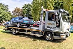 (3) Damage Ford Sierra XR 4X4 returning to Paddock 3 (John Tif) Tags: 2017 crystalpalace fordsierraxr4x4 car motorspot
