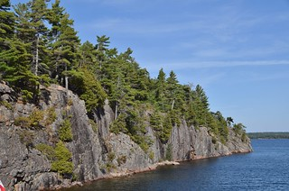 Hole in the Wall, 30,000 Islands Cruise, Island Queen, Parry Sound, ON
