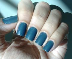 Desafio 1 Cor, 10 Marcas, 10 Acabamentos - Azul - 5. Cintilante (Roberta_Rezende) Tags: desafio1cor10marcas10acabamentos colorama azul