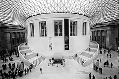 Day 286 (Tres Seis Cinco) Tags: 365 365photoproject 365project aphotoaday day286 blackandwhite bw britishmuseum architecture london uk england