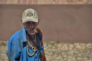 Portrait in Trinidad (Cuba).