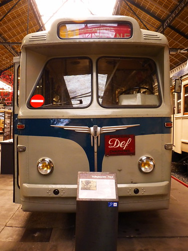Trolleybus 544 FN 1954