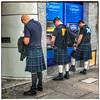 Sporran Re-charging Point (FotoFling Scotland) Tags: sporran cashpoint kilt male georgestreet edinburgh boots