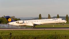 Bombardier CRJ-900LR D-ACKL Lufthansa CityLine (William Musculus) Tags: basel mulhouse airport euroairport eap bsl mlh lfsb