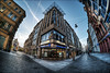 Ritterhaus in Halle (Saale) (p h o t o . w o r l d s) Tags: ritterhaus leipzigerstrasse boulevard hallesaale hdr tonemapping photomatix fisheye 7artisans75mm28 fujixt10 photoworlds