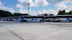 20171011_144701 (Metro Atlanta Transit Productions) Tags: grta srta xpress d4500ct 2011 2013 2014 2009 south ops operation garage facillity transdev gdot bus motorocoach mechanical forest park xpressbus