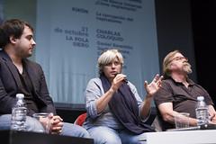 Charlas coloquio. Julen Bollain, Carme Porta, Jordi Arcarons, Lorena Gil, Daniel Raventós