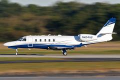 N404HB - Israel Aircraft Industries IAI-1125A Astra SPX  - KPDK - Oct 2017 (peachair) Tags: n404hb israel aircraft industries iai1125a astra spx kpdk oct 2017 panning bizjet business jet bizjets corporate