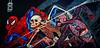 Spiderman by Nychos (ElysseRhaeann) Tags: graffiti nychos spiderman streetart