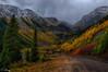 Touch of Fall, San Juan Mountains, Colorado (concho cowboy) Tags: colorado fall snow san juan skyway highway 550