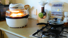 Air fryer cooking (Sandy Austin) Tags: panasoniclumixdmcfz70 sandyaustin massey auckland northisland newzealand airoven airfryer food