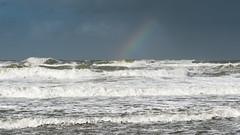 the beach today (robvanderwaal) Tags: swell golven northsea noordzee weer brekers rvdwaal shore beach regenboog robvanderwaalphotographycom 2017 rainbow shower waves surf breakers wave branding seascape bui golf weather zee