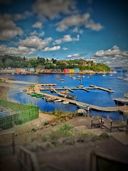 tobermory on a fine summer's day (garethendsor7771) Tags: tobermory panasonic g7 snapseed port summer bbc1 boats color