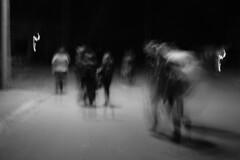 Trick Or Treat (SopheNic (DavidSenaPhoto)) Tags: xt2 impressionisticphotograph bw intentionalcameramovement blackandwhite monochrome halloween imc acros fujifilm impressionism fujinon35mmf14 mono