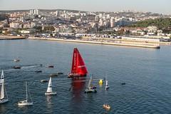 Leg 01, Alicante to Lisbon arrivals. Photo by Ainhoa Sanchez/Volvo Ocean Race. 28 October, 2017.