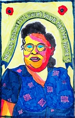 Vera Hall (A. Galassi) Tags: jazz blue portraits markers artbrut