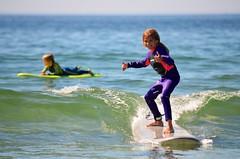 Violet Surfing (Joe Shlabotnik) Tags: beach justviolet july2017 higginsbeach violet surfing 2017 maine thumbsup ocean everett afsdxvrnikkor55300mm4556ged heylookatthis faved