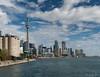 Toronto Skyline on Sunny Day-3 (jeffb477) Tags: toronto ontario canada canadian greatlakes harbour skyline nikon d7100 cntower autumn