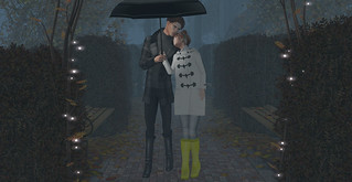 Love doesn't know bad weather