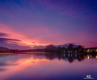 Posta Fibreno: dopo il tramonto / after the sunset