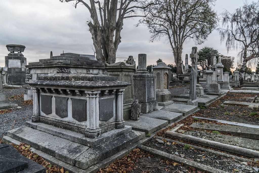 MOUNT JEROME CEMETERY IS AN INTERESTING PLACE TO VISIT [IT CLOSES AT 4PM]-134347