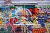 window (twurdemann) Tags: art brick chaos colour fujixt1 gorestreet graffiti lane mural saultstemarie vandalism viveza wall window xf1855mm
