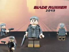 Custom LEGO BLADE RUNNER 2049: Rick Deckard (Will HR) Tags: lego bladerunner rick deckard custom