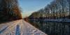 Effe snel !! (jo.misere) Tags: kanaal channel lanaken zon sneeuw water selfie schaduw shadow schatten